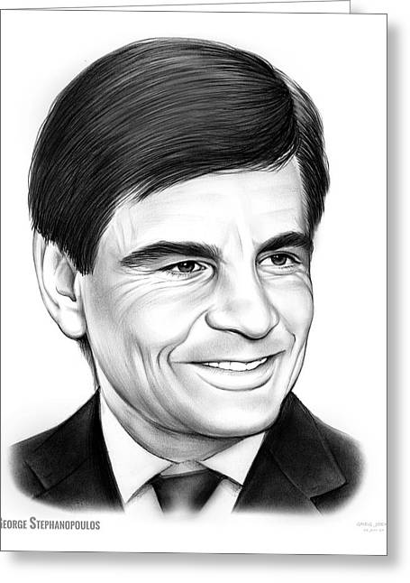 George Stephanopoulos Greeting Card