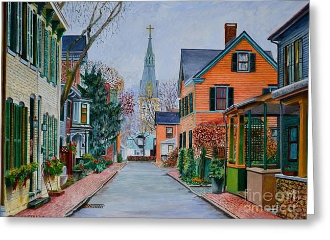 George Street, Lambertville Greeting Card