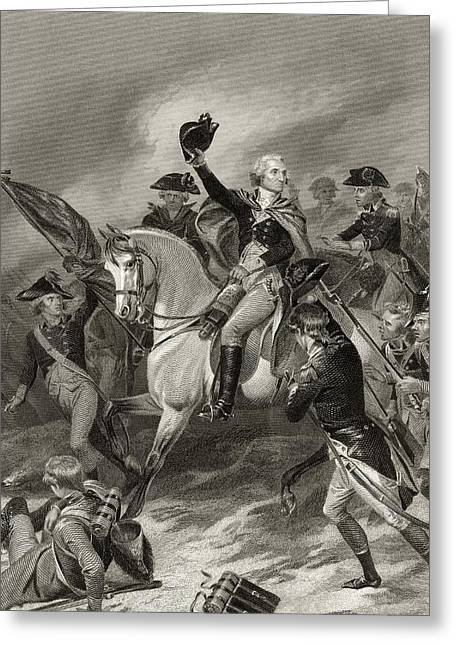 George Washington 1732 To 1799 At The Greeting Card by Vintage Design Pics