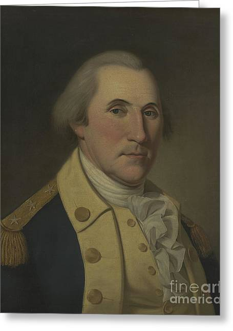 George Washington, 1788 Greeting Card by Charles Willson Peale