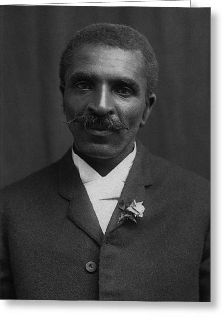 George Washington Carver Portrait Greeting Card
