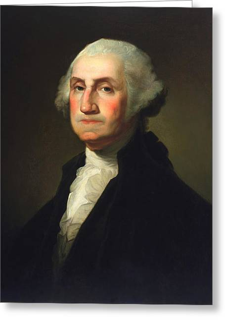 George Washington - Rembrandt Peale Greeting Card