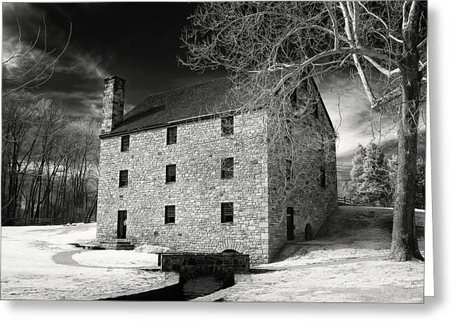George Washingtons Gristmill Greeting Card by Paul Seymour