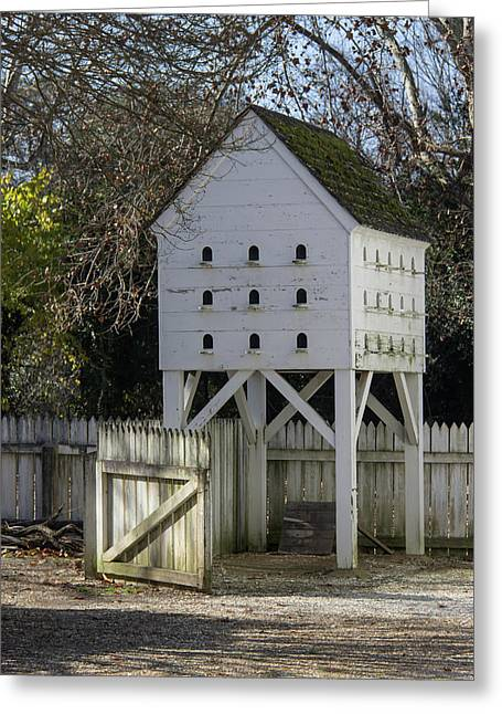 George Wythe Dovecote Greeting Card by Teresa Mucha