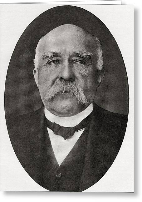 Georges Benjamin Clemenceau, 1841 Greeting Card