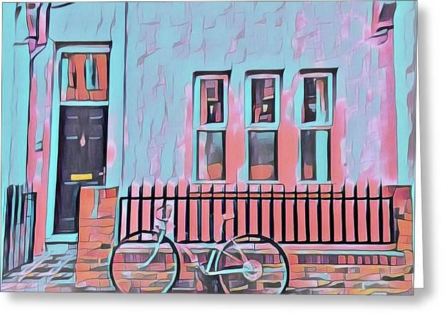 Georgetown Cycle Greeting Card