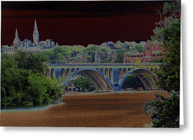 Georgetown5523 Greeting Card by Carolyn Stagger Cokley