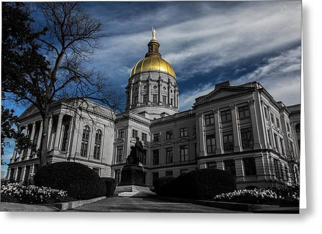 Georgia State Capital Greeting Card