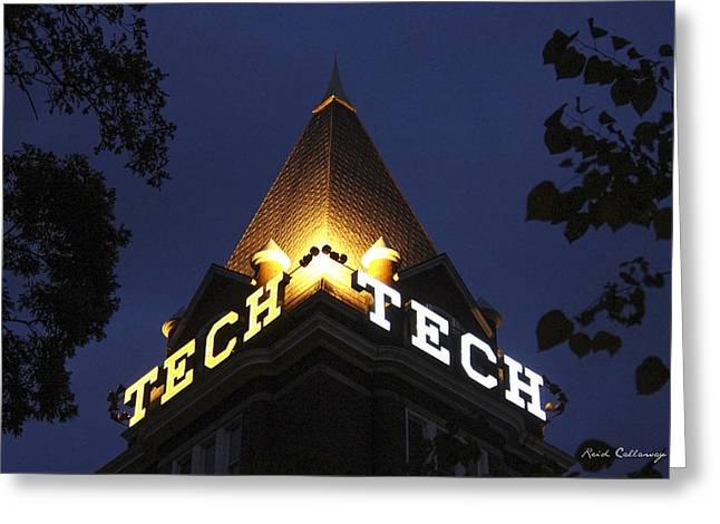 Georgia Tech Georgia Institute Of Technology Georgia Art Greeting Card