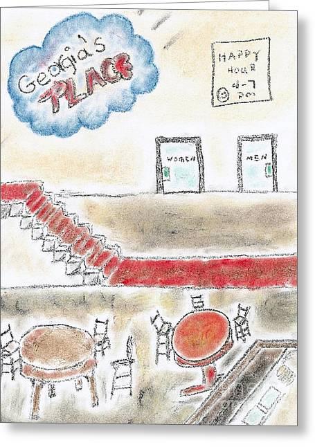 Georgia's Place Greeting Card