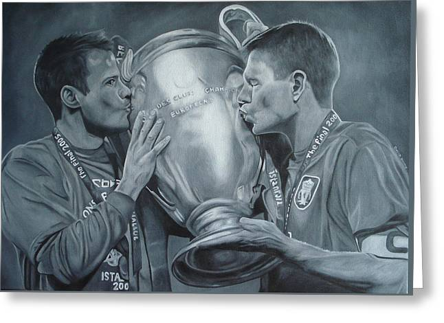 Gerard An Carragher Greeting Card by David Dunne