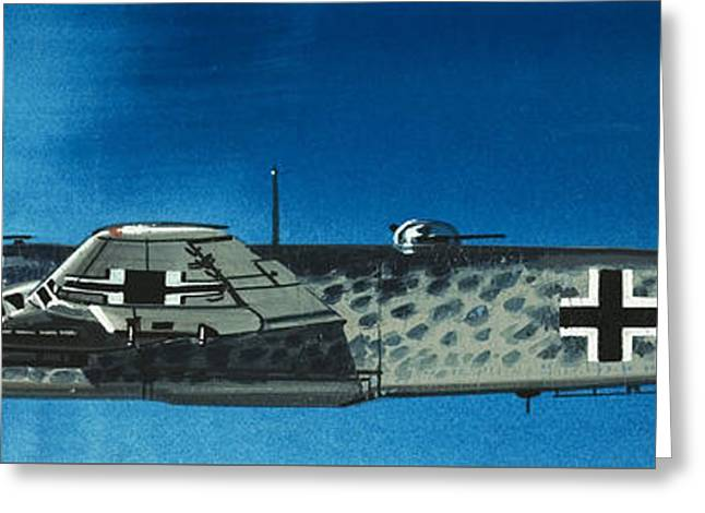 German Aircraft Of World War  Two Focke Wulf Condor Bomber Greeting Card