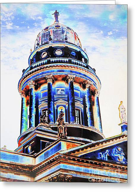 German Dome Greeting Card