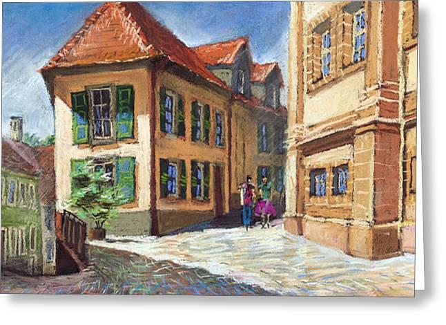 Germany Baden-baden 04 Greeting Card by Yuriy  Shevchuk