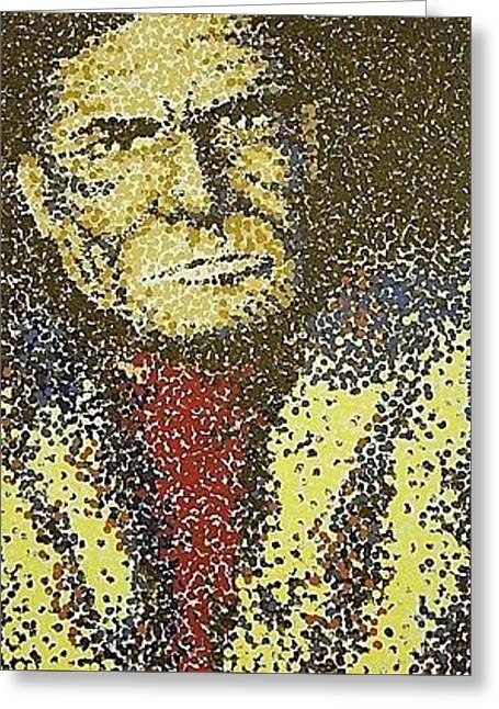 Geronimo Greeting Card by Kevin Heaney