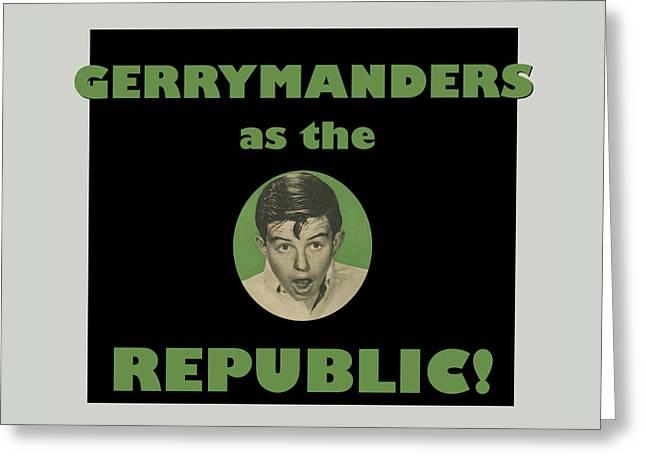 Gerry Manders Greeting Card by Thomas Krahn
