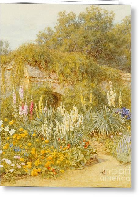 Gertrude Jekyll's Garden, Munstead Wood Greeting Card