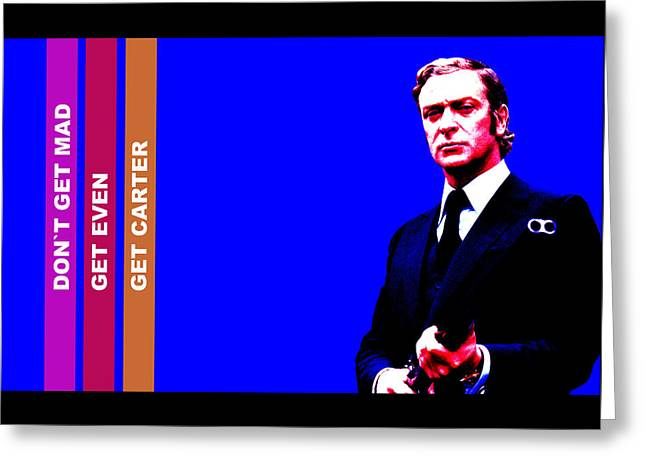 Get Carter Greeting Card by Martin James