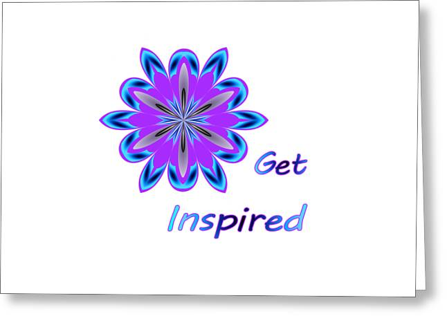 Get Inspired Greeting Card