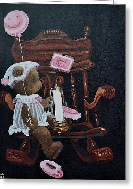 Susan Roberts Greeting Cards - Get Well and God Bless Greeting Card by Susan Roberts