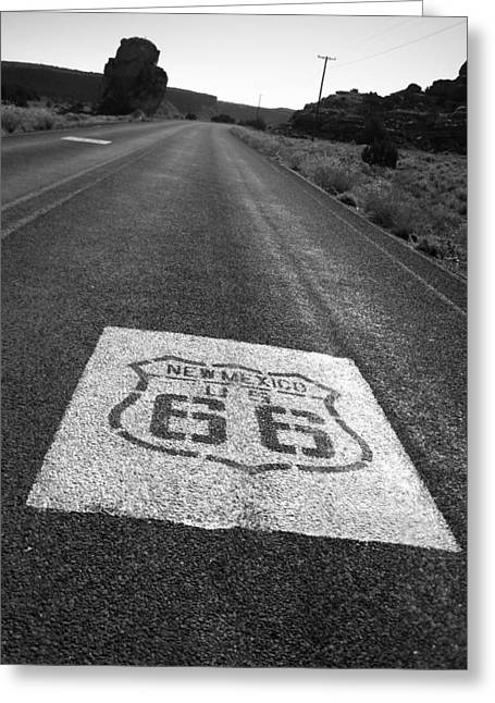 Get Your Kicks In New Mexico Greeting Card by Eric Foltz