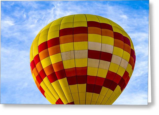 Getting Ready For Take Off Greeting Card by Teri Virbickis