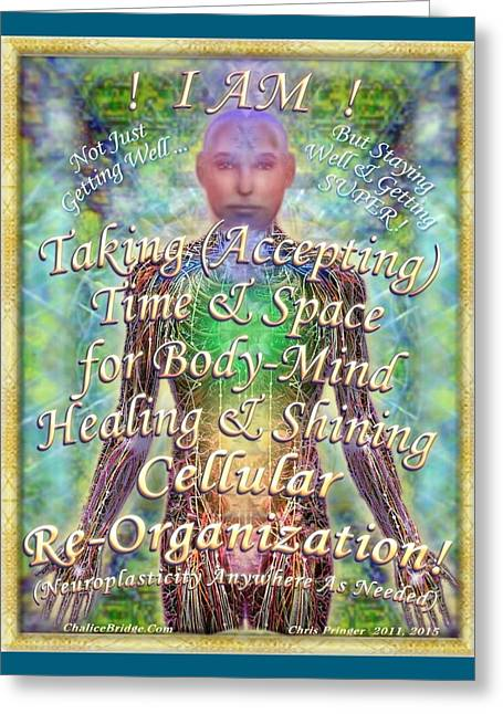 Getting Super Chart For Affirmation Visualization V2 Greeting Card