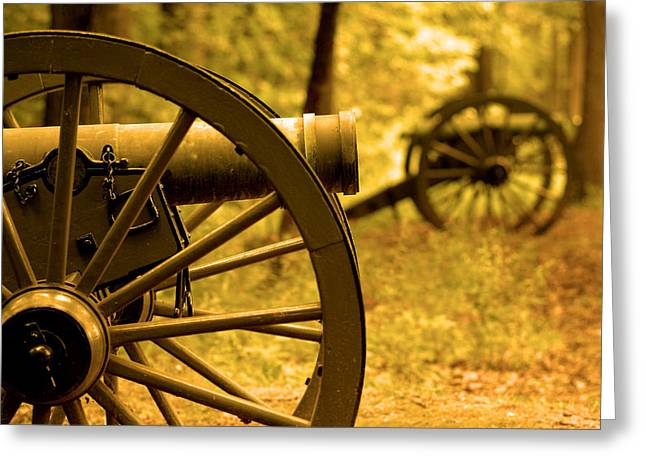 Gettysburg Greeting Card by Don Wolf