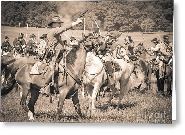 Gettysburg  Union Cavalry 7920s  Greeting Card