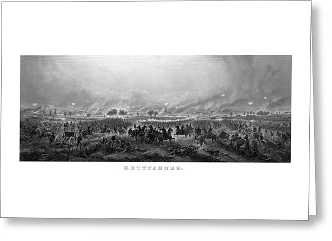 Gettysburg Greeting Card by War Is Hell Store