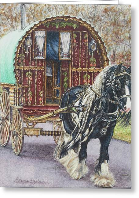 G G L Divo's Pride And Glory Greeting Card