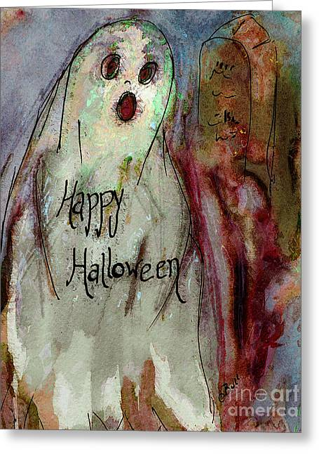Ghost 1  Greeting Card