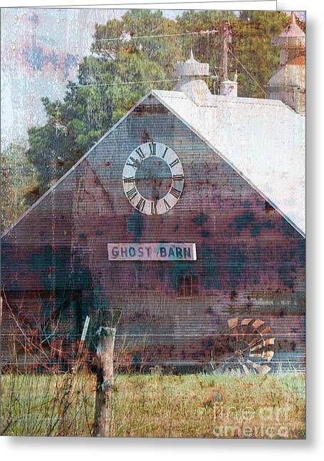 Ghost Barn Texas #772 Greeting Card