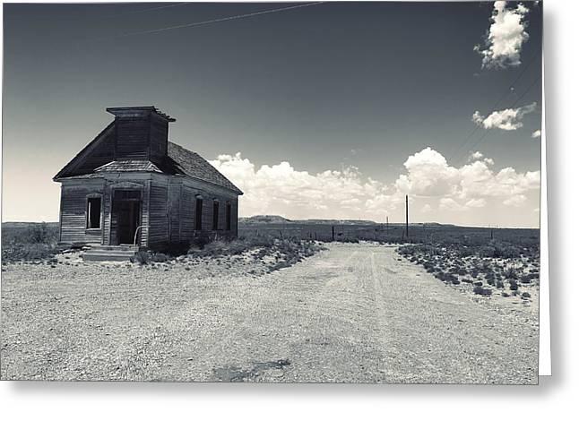 Ghost Church Greeting Card