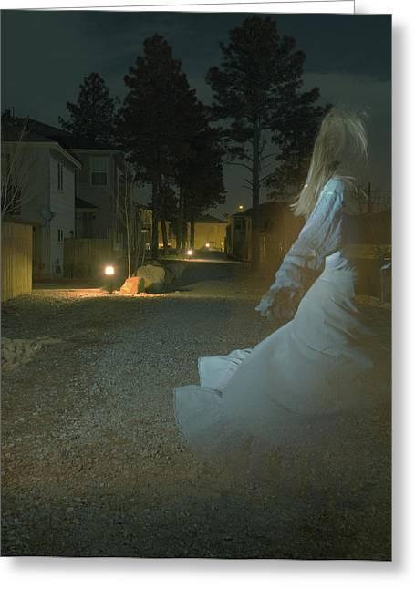 Ghost Dancer Greeting Card by Scott Sawyer