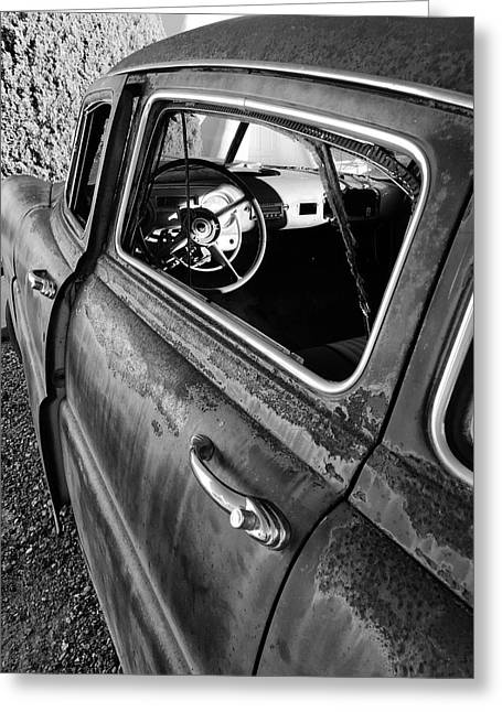 Ghost Driver Greeting Card