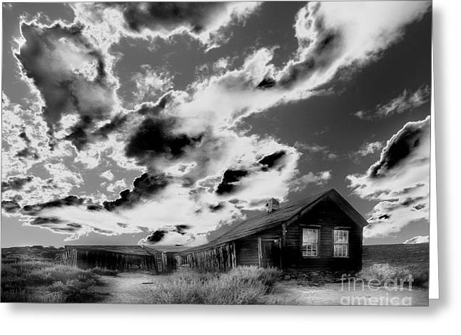 Greeting Card featuring the photograph Ghost House by Jim and Emily Bush