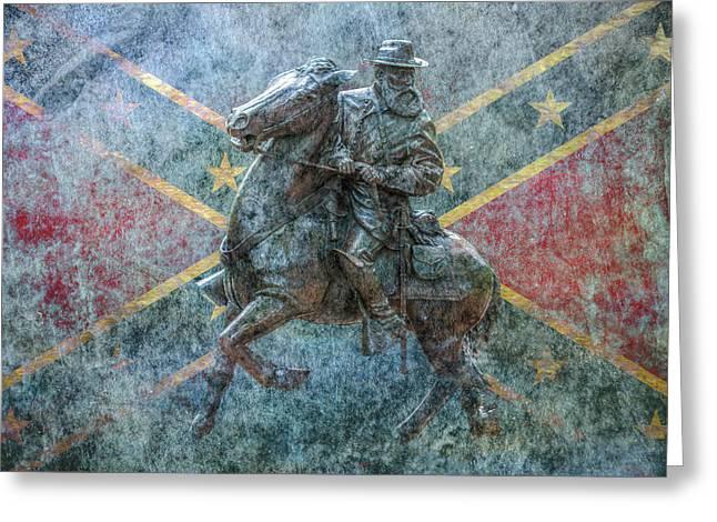 Ghost Of Gettysburg Verson Three Greeting Card by Randy Steele