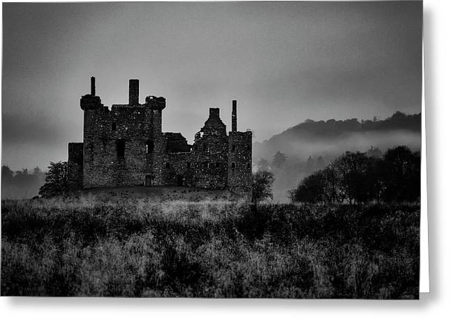 Ghost Of Kilchurn Greeting Card by Guy Shultz