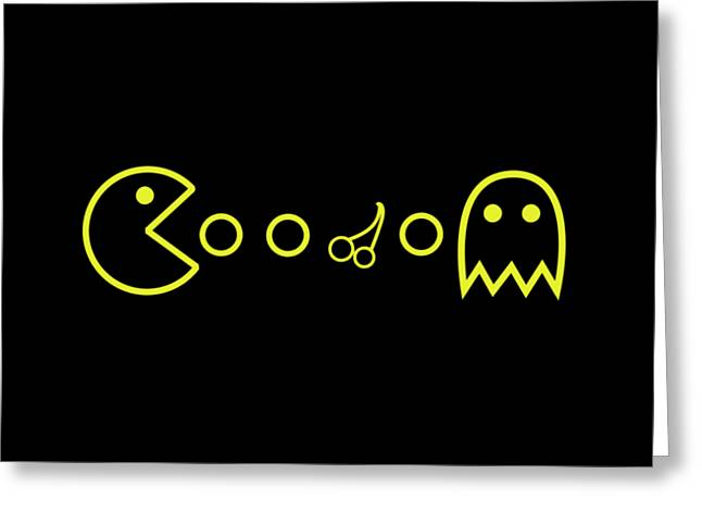 Ghost Greeting Card by Opoble Opoble