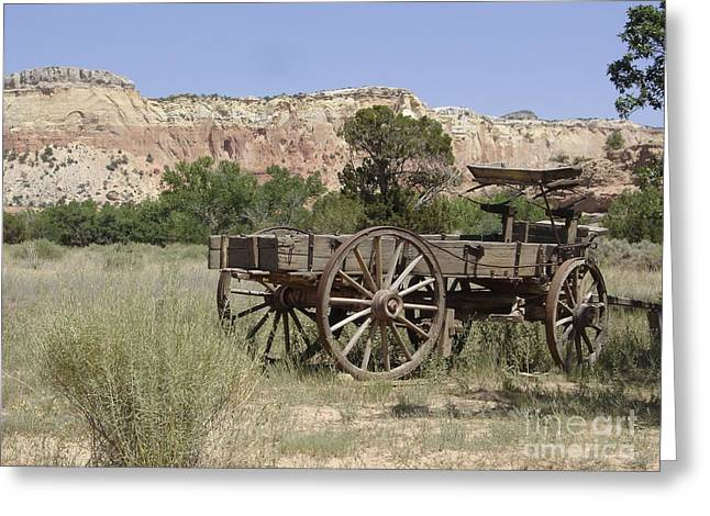 Ghost Ranch Greeting Card by Mary Rogers