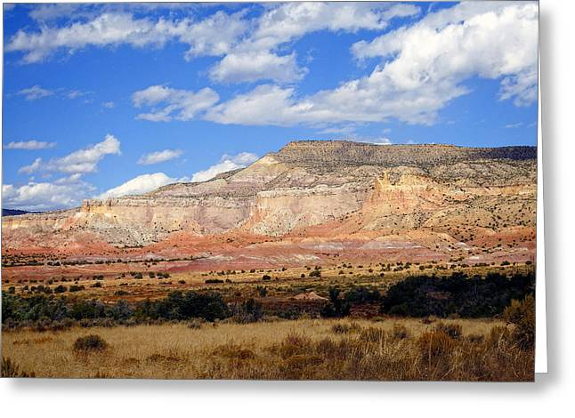 Greeting Card featuring the photograph Ghost Ranch New Mexico by Kurt Van Wagner