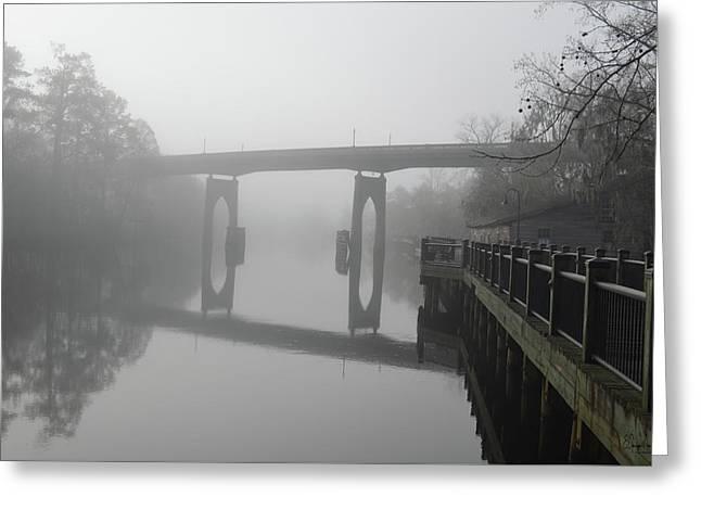 Ghost River Greeting Card by Gordon Mooneyhan