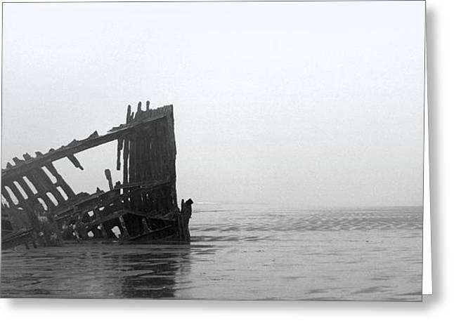 Ghost Ship Greeting Card by Joseph Skompski