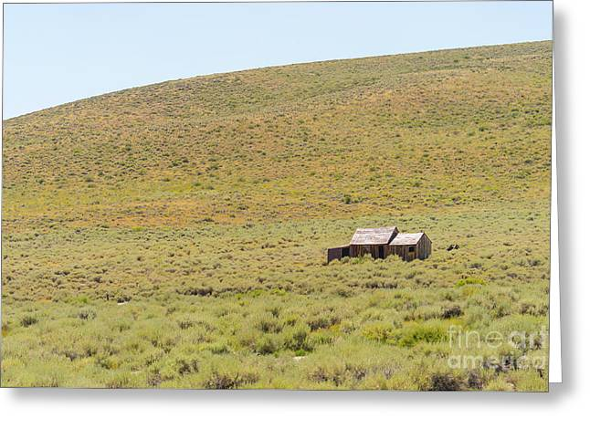 Ghost Town Of Bodie California Dsc4338 Greeting Card by Wingsdomain Art and Photography