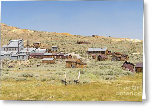 Ghost Town Of Bodie California Dsc4415 Greeting Card by Wingsdomain Art and Photography