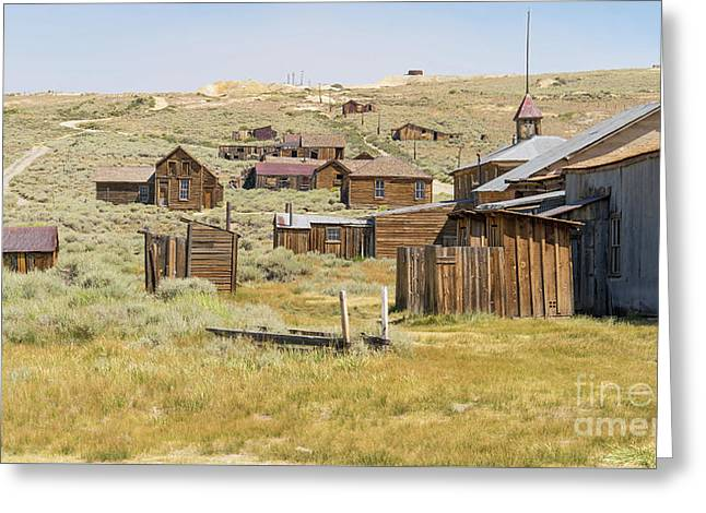 Ghost Town Of Bodie California Dsc4427 Greeting Card by Wingsdomain Art and Photography