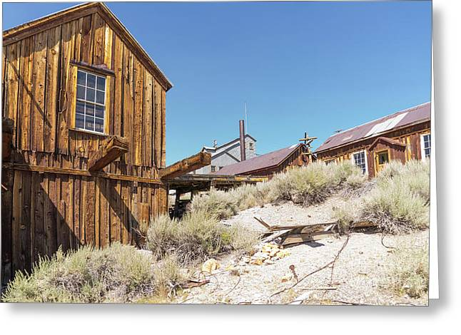 Ghost Town Of Bodie California Dsc4441 Greeting Card by Wingsdomain Art and Photography