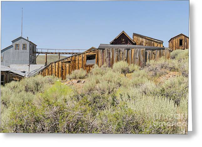 Ghost Town Of Bodie California Dsc4451 Greeting Card by Wingsdomain Art and Photography