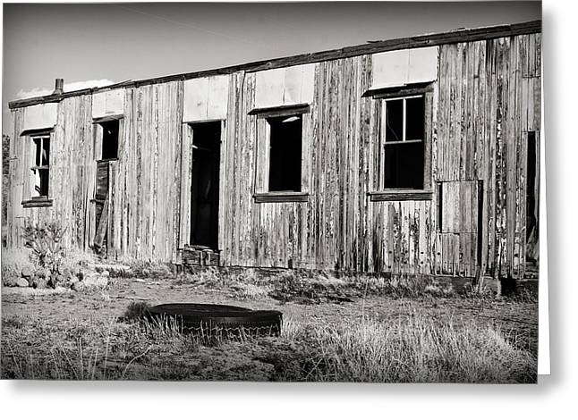 Ghost Town Relic In Cuervo Greeting Card